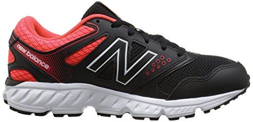 New Balance Womens W645V2 Running Shoe Black/Red