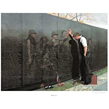 Vietnam Reflections War Memorial Poster Fine Art Print by Lee Teter (Overall Size: 30x23) (Image Size: 26x19)