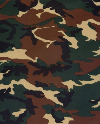 Printed Swimwear Fabric (Camouflage Printed 4-Way Stretch Spandex Fabric - 10 Yard Bolt - for Swimwear, Active Wear, and more only from Shavali Fabric by Shavali Fabric)
