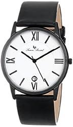 Lucien Piccard Unisex LP-10608-BB-02 Moiry Analog Display Swiss Quartz Black Watch