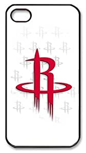 LZHCASE Personalized Protective Case For HTC One M8 Cover NBA Houston Rockets Logo