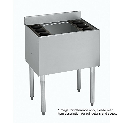 Underbar Cocktail Unit (Krowne Metal 18-24 1800 Series Underbar Ice Bin/Cocktail Unit 24