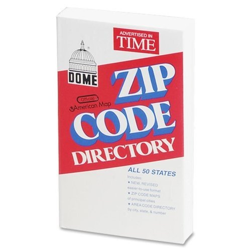 Dome Zip Code Directory Directory Printed Book - 752 for sale  Delivered anywhere in USA
