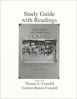 Book Human Development - Study Guide