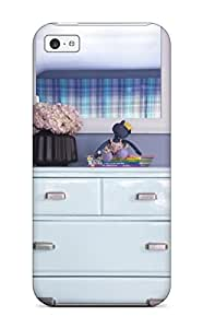 New TOzGdCU26422bBxBI Eclectic Ice Blue Dresser 038 White Mirror In Blue Bedroom Tpu Cover Case For Iphone 5c
