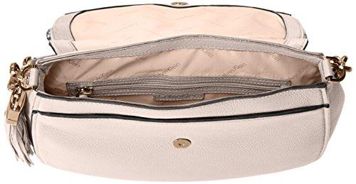 Pebble White Flap Lynn Bag Klein Shoulder Hobo Calvin Eqf4nwC