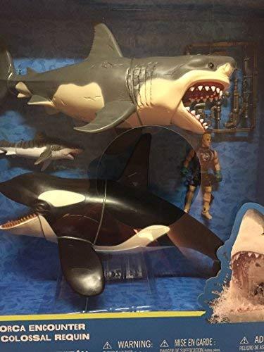 Great White Shark & Killer Whale Playset -