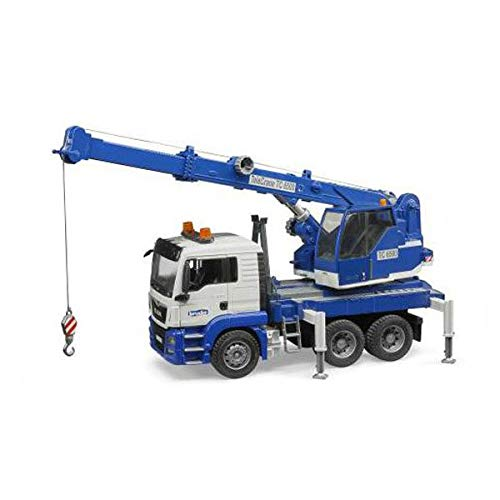 Bruder Man Tgs Crane Truck with Light & Sound Vehicle