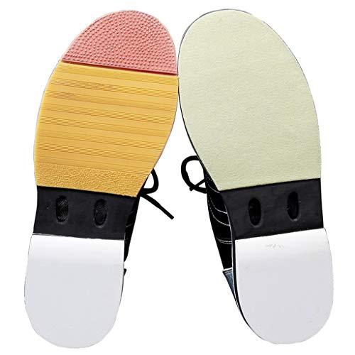 Orange und amp; Kinder Mädchen Damen Bowling Schuhe Leder für Jugend Schwarz Synthetik x0CwPvq1