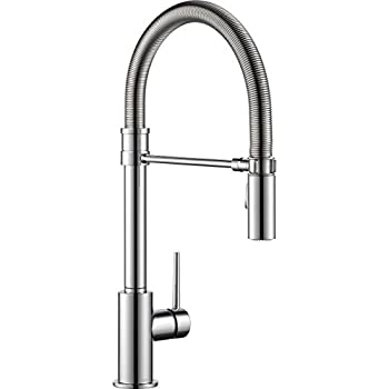 Delta Faucet Trinsic Pro Single Handle Spring Spout