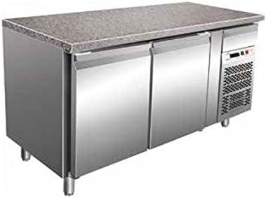 Mesa separados Pastelería 2 puertas Ventilado de acero inoxidable ...