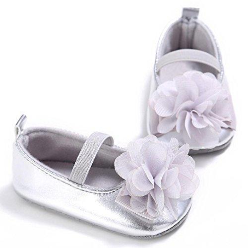 Hunpta Baby Kleinkind Kinder Mädchen weichen Sohle Krippe Kleinkind Neugeborenes Schuhe Gray