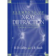 Elements of X-Ray Diffraction (3rd Edition)