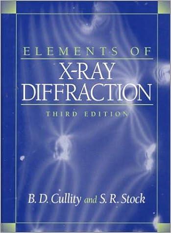 X RAY CULLITY EBOOK