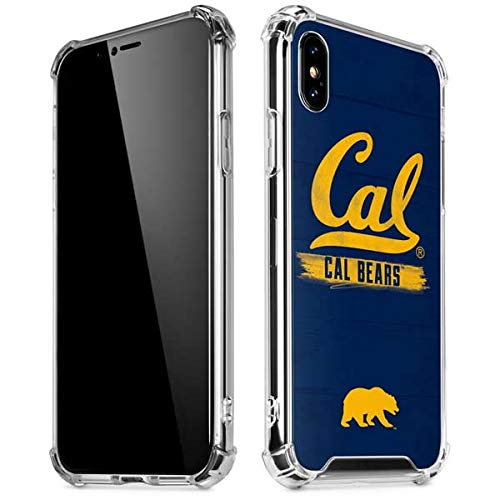 Skinit Cal Bears iPhone XR Clear Case - Officially Licensed University of California Berkeley Phone Case - Slim, Lightweight, Transparent iPhone XR Cover