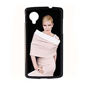 Generic Protection Phone Cases For Kids For Nexus 5 Printing With Cate Blanchett Choose Design 4