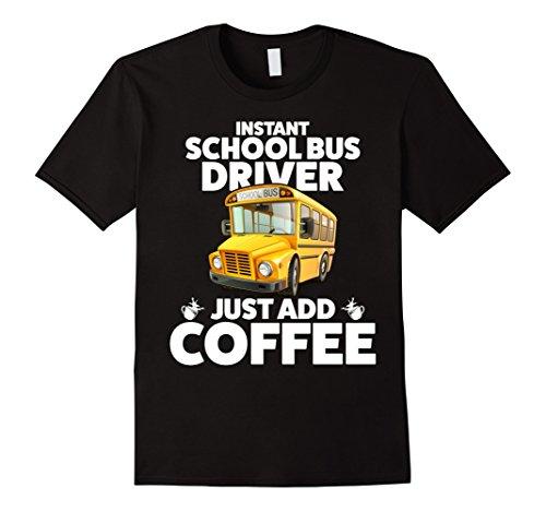 Men's Funny School Bus Driver T Shirt Large ()