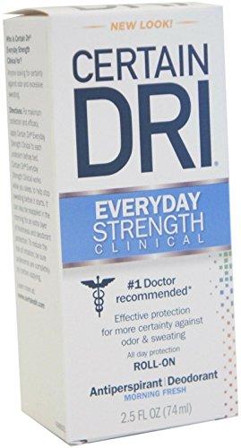 Certain Dri A.m Solid Antiperspirant/deodorant 2.6 Oz (2 Pack) (Dry Deodorant)