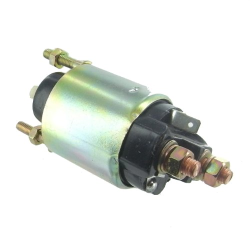 (Starter Solenoid 12 Volt, 3 Terminal, Intermittent Duty, Denso Replacement for John Deere Tractor & Gator UTV)