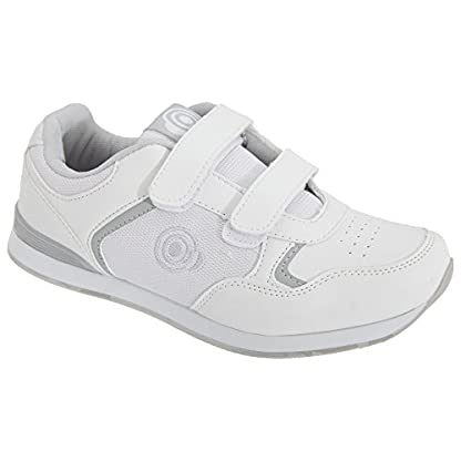 Dek Womens/Ladies Lady Skipper Touch Fastening Trainer-Style Bowling Shoes 3