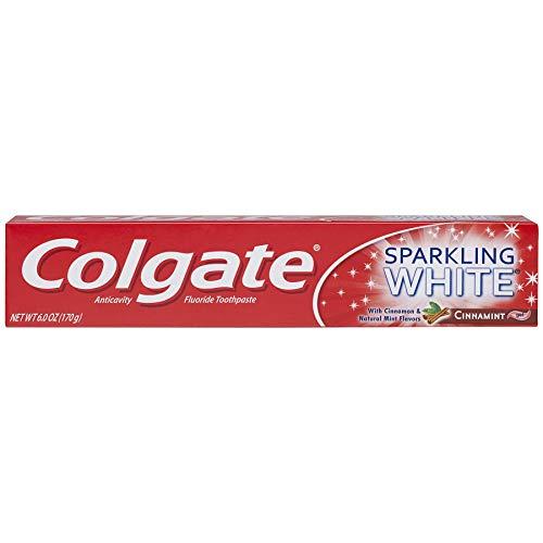 Colgate Sparkling White Whitening Toothpaste, Cinnamon, 6 Ounce