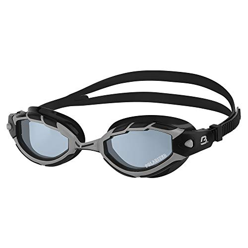 Barracuda Swim Goggle TRITON POLARIZED - Wire Frame Technology, Anti-glare Curved Lenses Anti-fog UV Protection No Leaking Triathlon for Adults Men Women #33975 (Black)