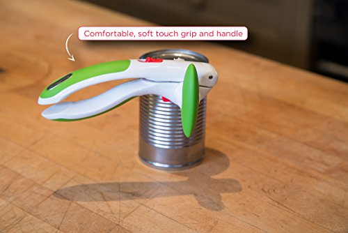 Zyliss ZYLISS️ Lock N' Lift Can Opener with Lid Lifter Magnet, Green, 7.5""