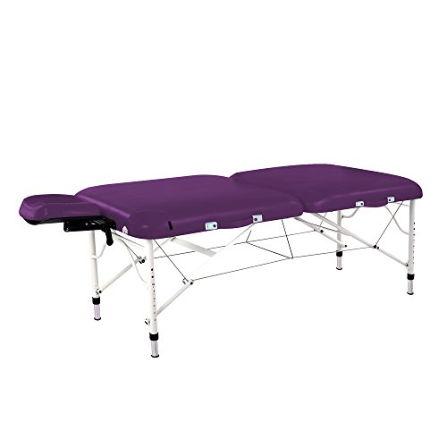 - Master Massage Ultra Lightweight Calypso Aluminum Portable Massage Table Package, King's Purple, 30 inch, 25 Pound