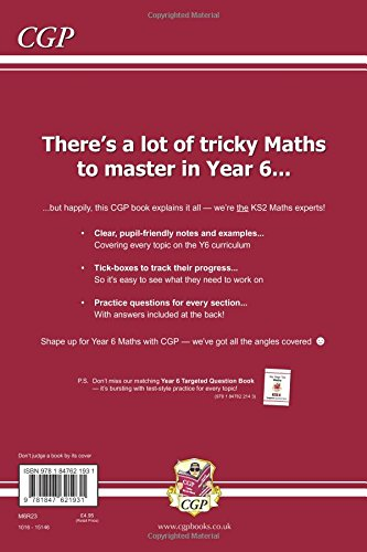 KS2 Maths Targeted Study Book - Year 6 (CGP KS2 Maths