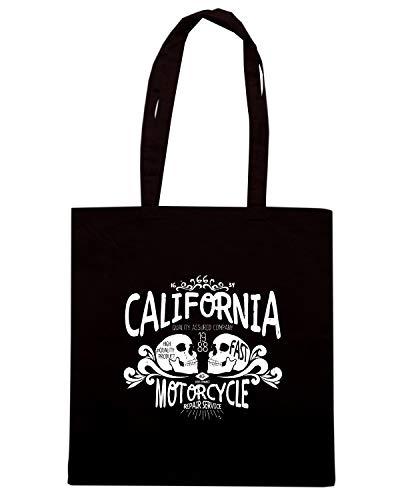 Shirt Shopper Nera CALIFORNIA TB0432 Speed Borsa FOR Pq7wgvpU
