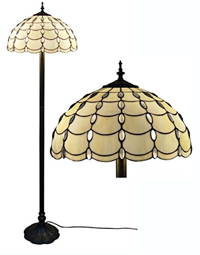 Amora Lighting Home Decorative AM1044FL16 Tiffany Style Cascades Floor Lamp 61