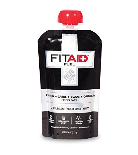 LifeAid Beverage Company FitAid Fuel Sweet Potato/Tart Apple 6 - 4 oz. Fuel Pouch
