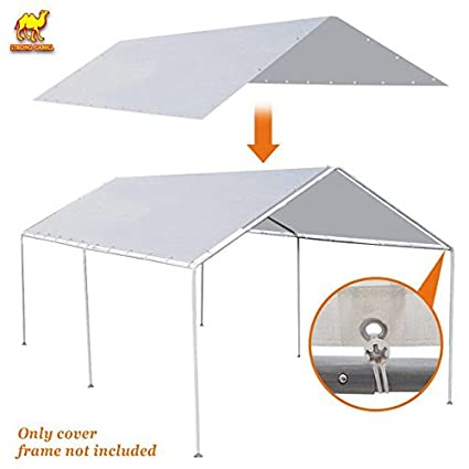 Amazon.com : Strong Camel New 10\'x20\' Canopy for Carport Tent Garage ...
