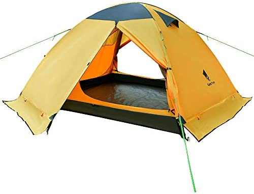 GEERTOP Backpacking Tent 3 Person 4 Season Camping Tent Double Layer Waterproof for Outdoor Hunting, Hiking, Climbing, Travel – Easy Set Up