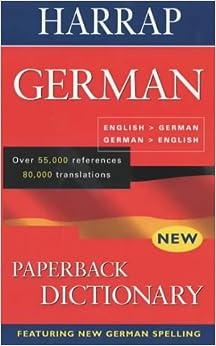 Harrap German Dictionary: English-German /German-English