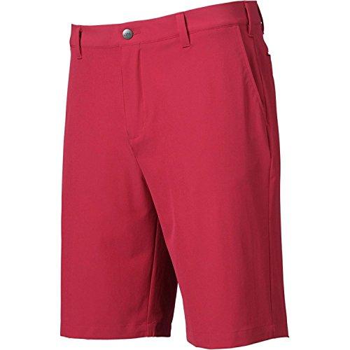 (adidas Golf Mens ADIULTMTSHORT UNIPNK Size 33 Cardinal)
