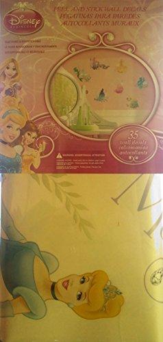 disney princess 35 peel stick