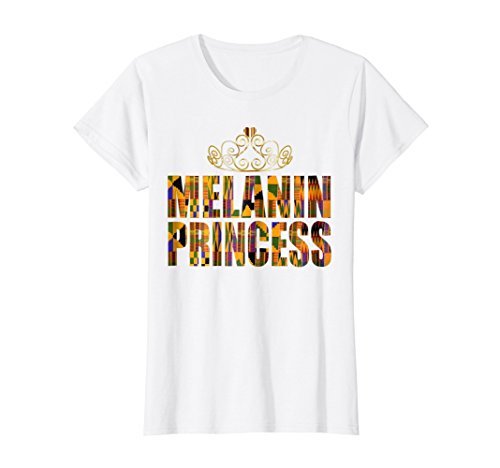 Kente Design - Oheneba: Melanin Princess Kente Design Gift T-Shirt