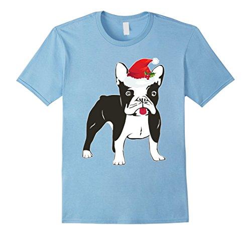 Infant Boston Terrier Costume (Mens Men And Women's Funny Boston Terrier For Christmas 3XL Baby Blue)