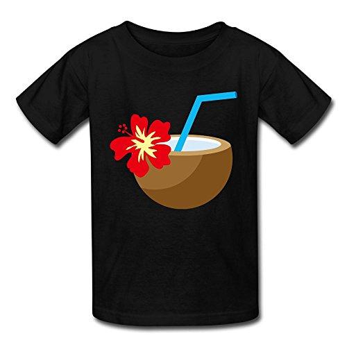 Hoeless Hawaiian Aloha TropicalBaby Short Sleeve TshirtsCozy Shirt 6 M - Glasses Munn Olivia