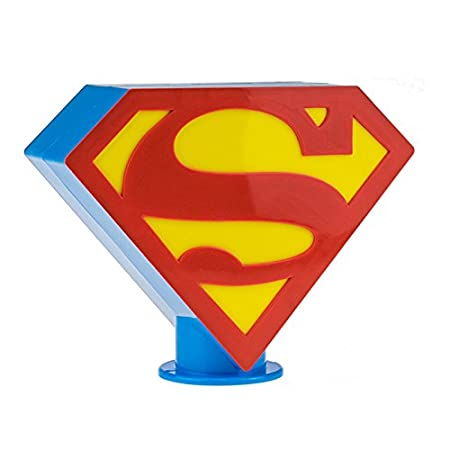 COIN BANK MONEY BOX with MILKY CANDY LOLLIPOPS NEW IN BOX SUPERMAN