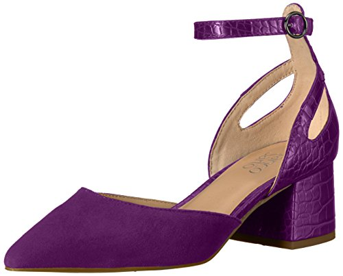 Franco Sarto Dames Caleigh Pomp Grape