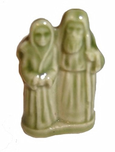 Noah and His Wife - (Red Rose Tea/Wade Figurine, Noah's, used for sale  Delivered anywhere in USA