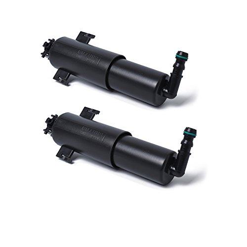 Meiyiu Headlamp Washer Pump Nozzle Jet Sprayer for BMW 3 Series E90 91 92 93 61677179311 Black A0720