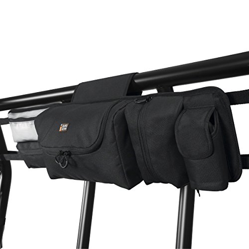 (Classic Accessories QuadGear Black UTV Roll Cage Organizer (For Most UTVs))