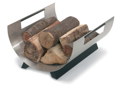 blomus Chimo Log Basket, 15-1/2 by 8-3/4 by 13-1/2-Inch by Blomus
