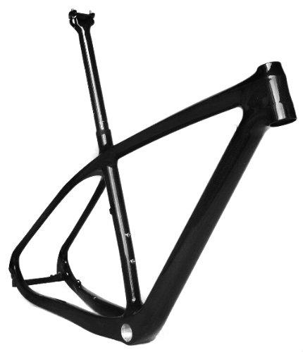 フルカーボン3 K光沢29インチマウンテンバイクMTB 29インチホイールBSAフレーム15.5