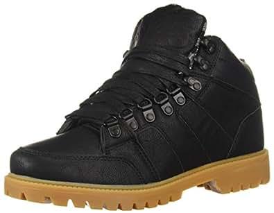 Osiris Men's Convoy Boot Skate Shoe, Black/Plaid, 5.5 M US