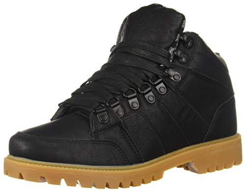 Osiris Men's Convoy Boot Skate Shoe, Black/Plaid, 8 M US