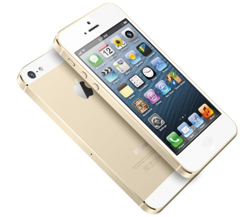 Apple iPhone 5s 16GB Champagne Gold - Cricket Wireless by Apple (Image #1)